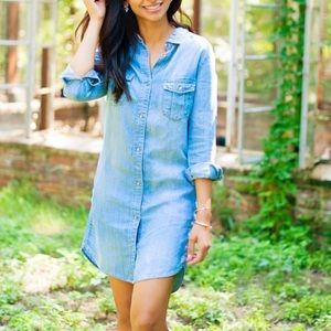H&M chambray dress